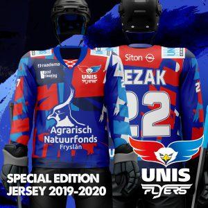 UNIS Flyers Agrarisch Natuurfonds Fryslân Speciale shirt
