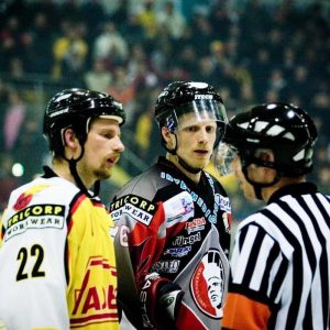 Erik Landman Jacco Landman UNIS Flyers ijshockey