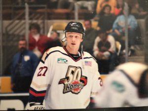 Erik Landman UNIS Flyers ijshockey