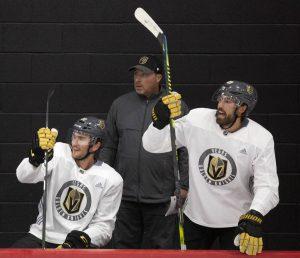 Steve Spott UNIS Flyers ijshockey Las Vegas Golden Knights